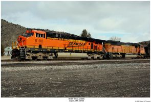BNSF 6100 and 9889 by hunter1828