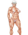 ANIME MUSCLE BABE WITH SPECTACLES by B9TRIBECA