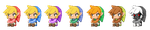 Toon Link - Multiple Recolors by ManikkuDerp