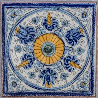 Spanish Tile by TheBirdsFeathers