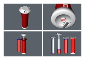 TOMMY Ketchup Dispenser by Salvenius