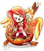 Angel of Fire -color- by hmongt