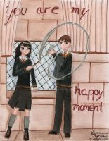 You are my happy moment-Patronus challege by Paty-Longbottom21