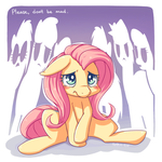 All Mixed Up - Fluttershy by space-kid