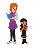 Emily and Livie by Starry-Bat1