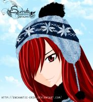 Erza WinterBySumita by enchantic-erza