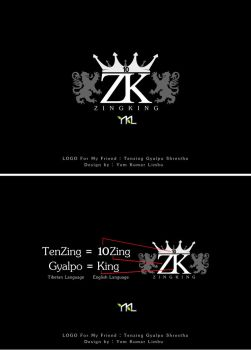 LOGO for my friend 10ZINGKING by ykl