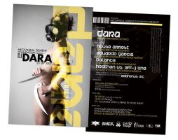 DJ Dara Flyer by subspaceNinja