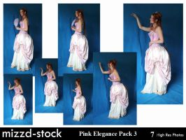 Pink Elegance Pack 3 by mizzd-stock