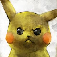 Pikachu used LEER by ikuyoan