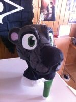 Otter fursuit WIP by VzioN-suits