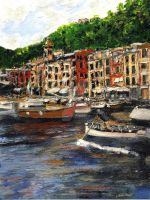Portofino Late October by RandySprout