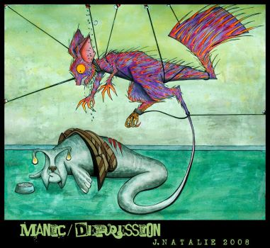 Manic - Depression by TheRedBamboo