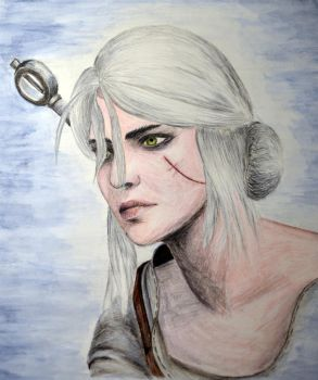 Ciri by IrisGrass