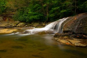 Swallow Falls by LAlight