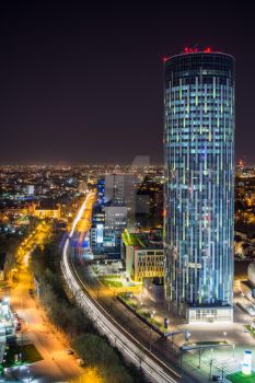 Bucharest Sky Tower by Cipgallery