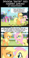 Comic(Russian) Bats Without Pointless Drama by drawponies