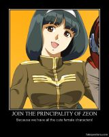 Join Zeon poster by YumaLightning