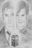 David TENNANT et Matt SMITH by manon-D