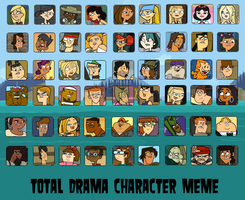 Total Drama Top 54 by Frank35