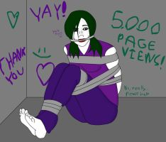 5000 PAGE VIEWS! by jokerismyname