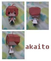 akaito vocaloid papercraft by chowitsu