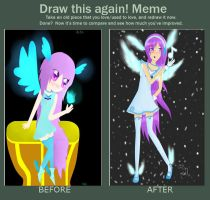Draw This Again Challenge by luckygirlmarina
