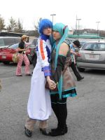 Kaito and Miku by Rosemarie3