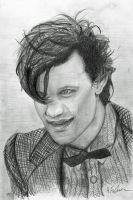 Matt Smith by HFinlinson