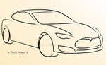 Tesla Model S by airsax27