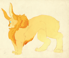 Bunny/Lion Adoptable (CLOSED) by DaPuddingz