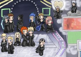 KH - Organization XIII by Quistounette