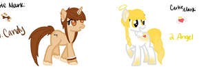 2/50 pony adoptables -FOR SALE- Auction by Acid-Black-Cherry
