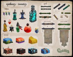 The Fernlings - Apothecary (Inventory) by Lyraina