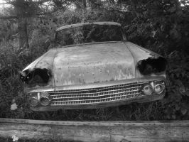 dead chevy by michael-dent