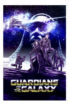 Guardians of the Galaxy color version by Hachiman1