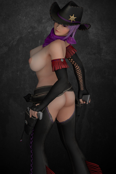 Dead or Alive's Ayane 9 (Nude) by SinfulDesireENT
