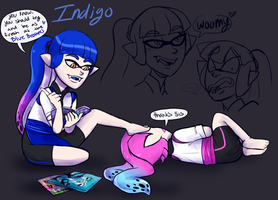 Theres Something About...Indigo? by freddyf202