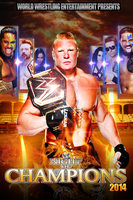 Night Of Champions Poster Ft. Current Champions by MMR16