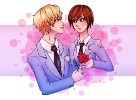 Ouran High School Host Club by happyzuko