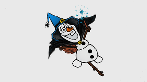 Olaf as a Witch! by TortallMagic