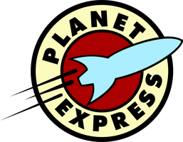 Planet Express Logo Flyer by Pencilshade