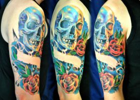 Tattoo sleeve colors by gettattoo