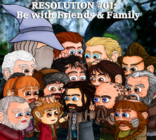 Resolution #01: Be With Friends and Family by Kumama