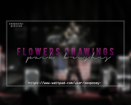 Flowers Brushes Pack by paattryy