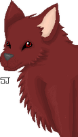 Pixel Wolf by shadowjess