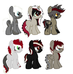 Abyss x Scuro foals part 1 by MartyBatty