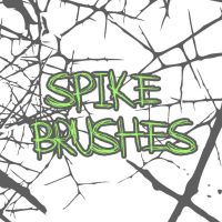 Spike Brushes by thejessemancan
