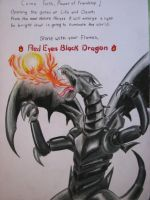 Red Eyes Black Dragon by TheGaboefects