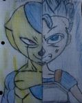 Golden frost/ ssgss cabba by Bowser226
